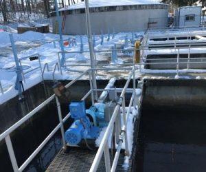 Wastewater facility web